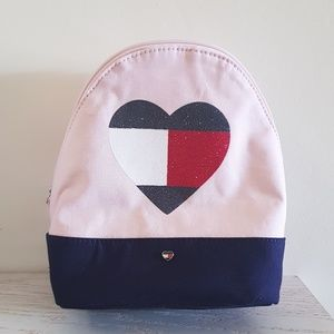 Tommy Hilfiger Heart Pink Mini Backpack